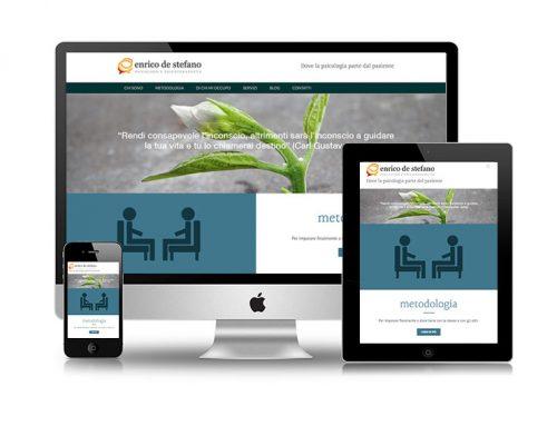 È online il nuovo sito di Enrico De Stefano
