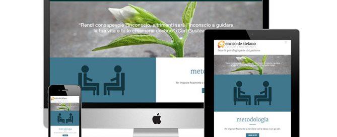 Nuovo sito Enrico de Stefano, psicologo milano